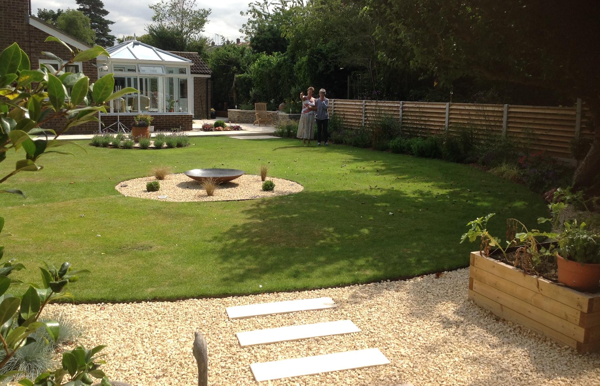 Modern Town Garden WItham
